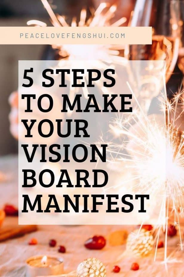 5 easy steps to help your vision board become real