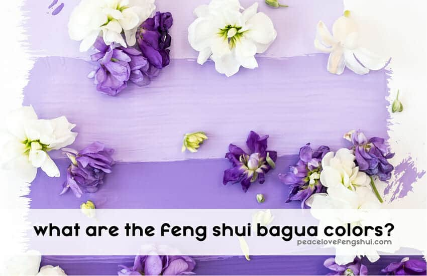 what are the feng shui bagua colors?
