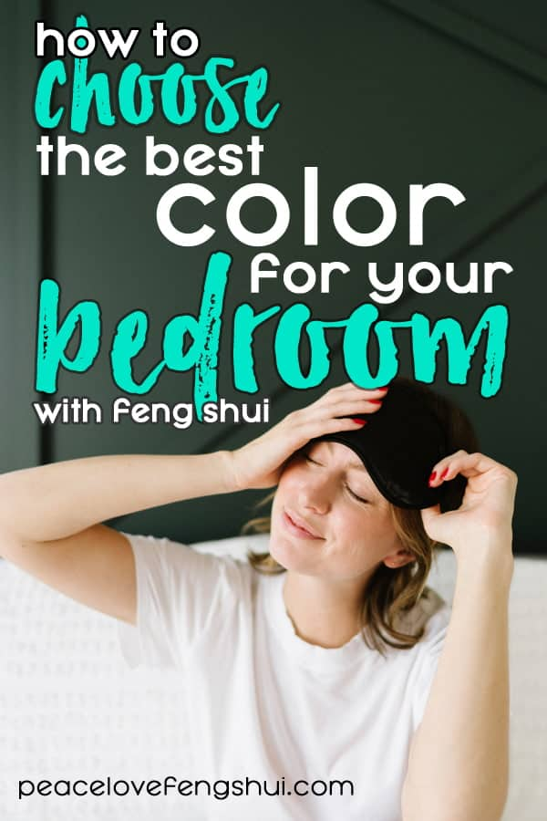 how to choose the best colors for your bedroom - according to feng shui