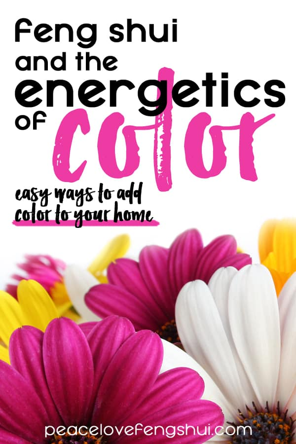 feng shui and color energetics