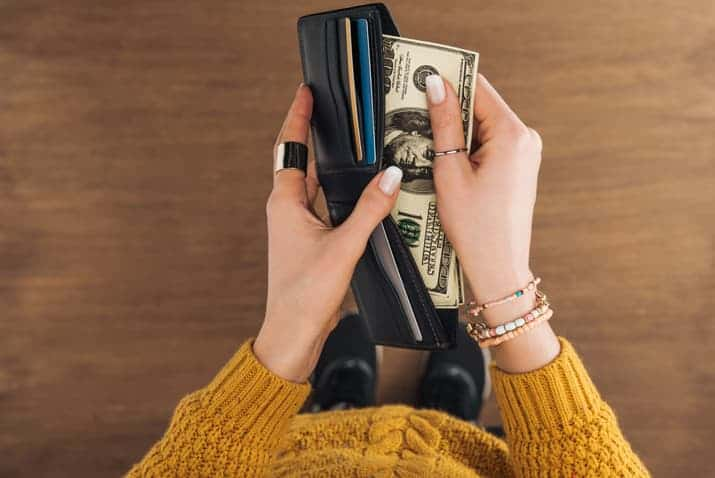organize your money for good feng shui
