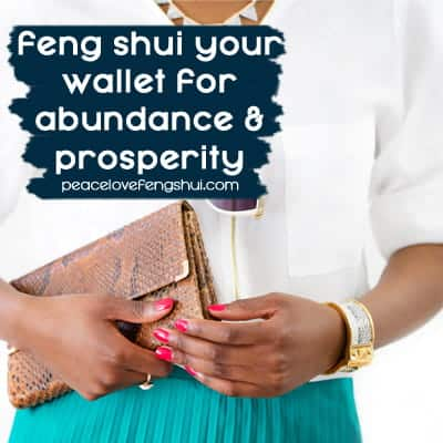 tips to feng shui your wallet