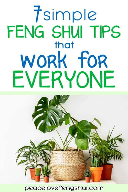 easy feng shui ideas