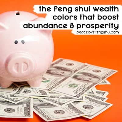 feng shui money colors