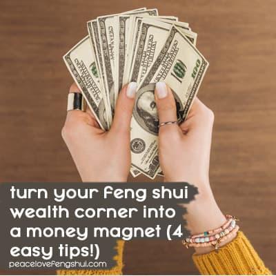 feng shui wealth corner