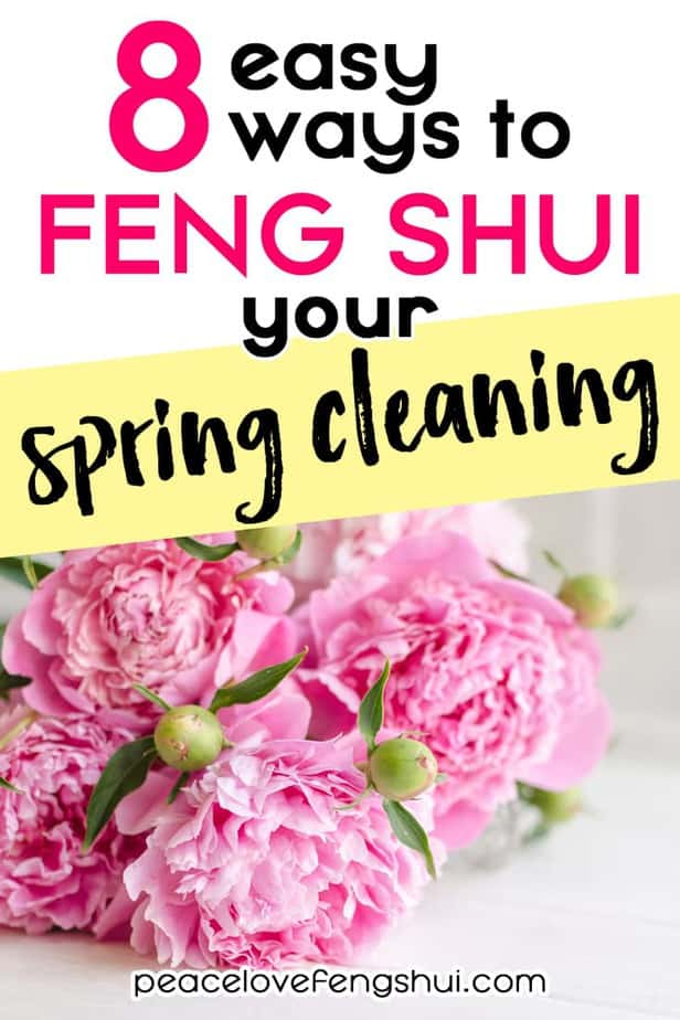 8 easy ways to add feng shui to your spring cleaning