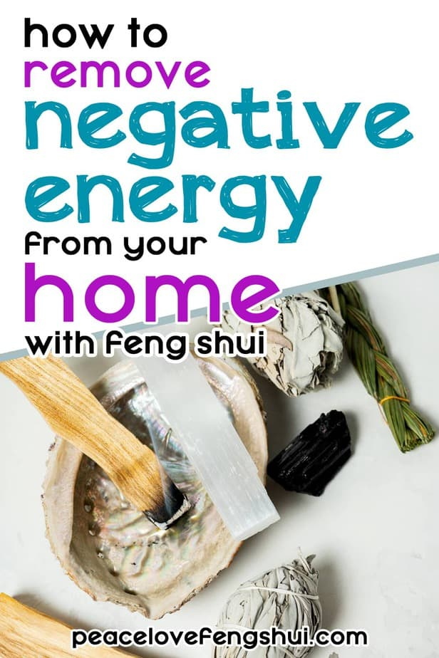 feng shui for removing negative energy