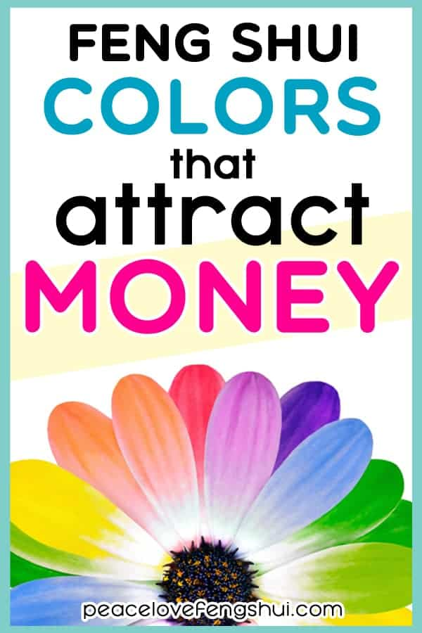 feng shui colors for wealth