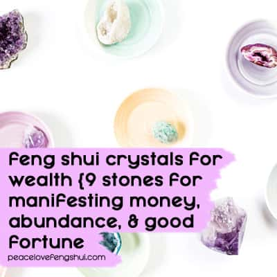 feng shui crystals for wealth