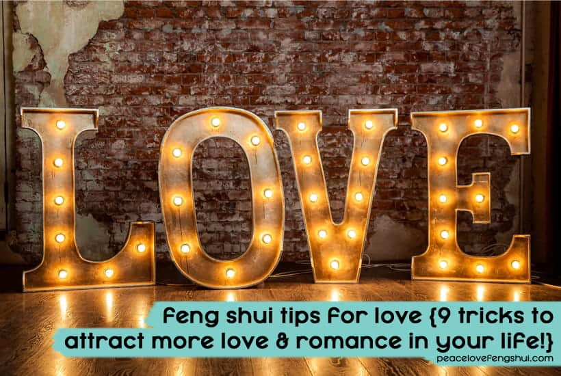 feng shui tips for love and romance