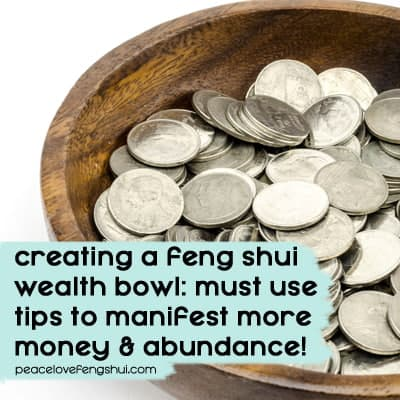 feng shui wealth bowl tips