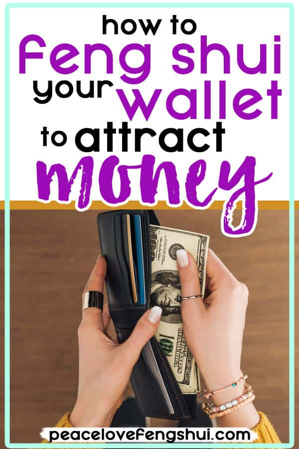 the best feng shui wallet colors to attract money