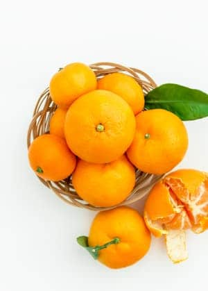 add fresh oranges during your spring cleaning for an extra feng shui boost!
