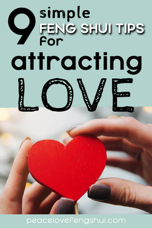 feng shui how to attract love