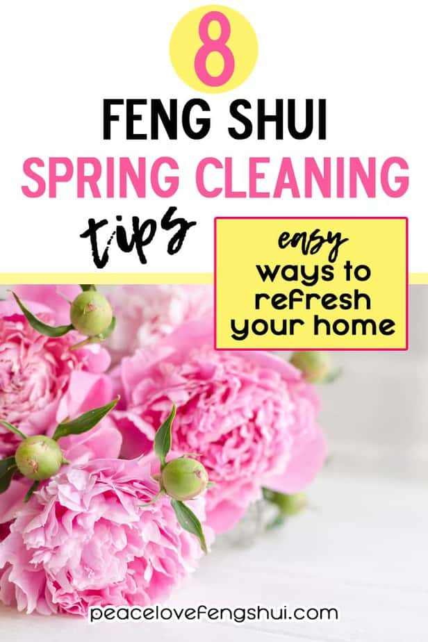 spring cleaning and feng shui