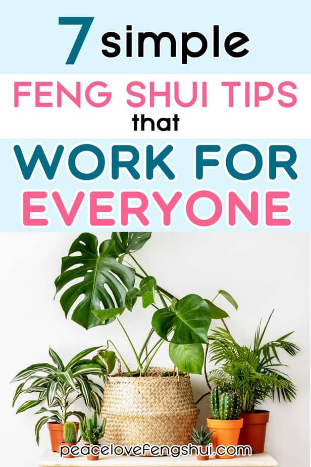 feng shui simple tips