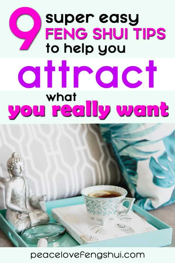 using feng shui and the law of attraction