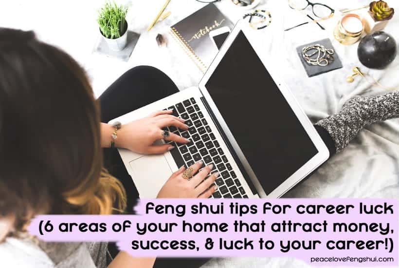 feng shui tips for career luck