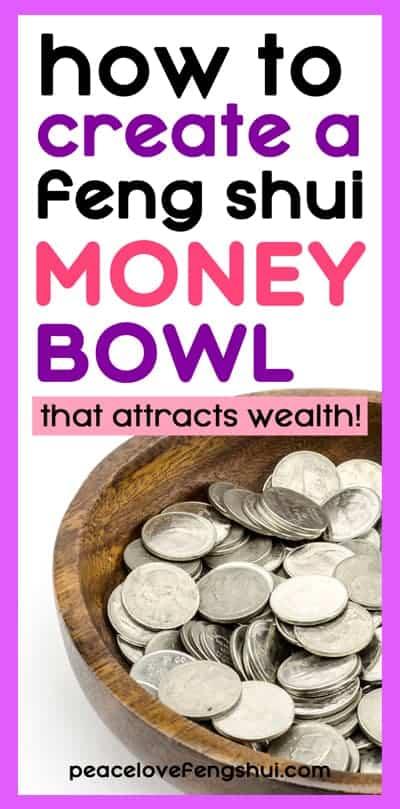 money bowl steps feng shui