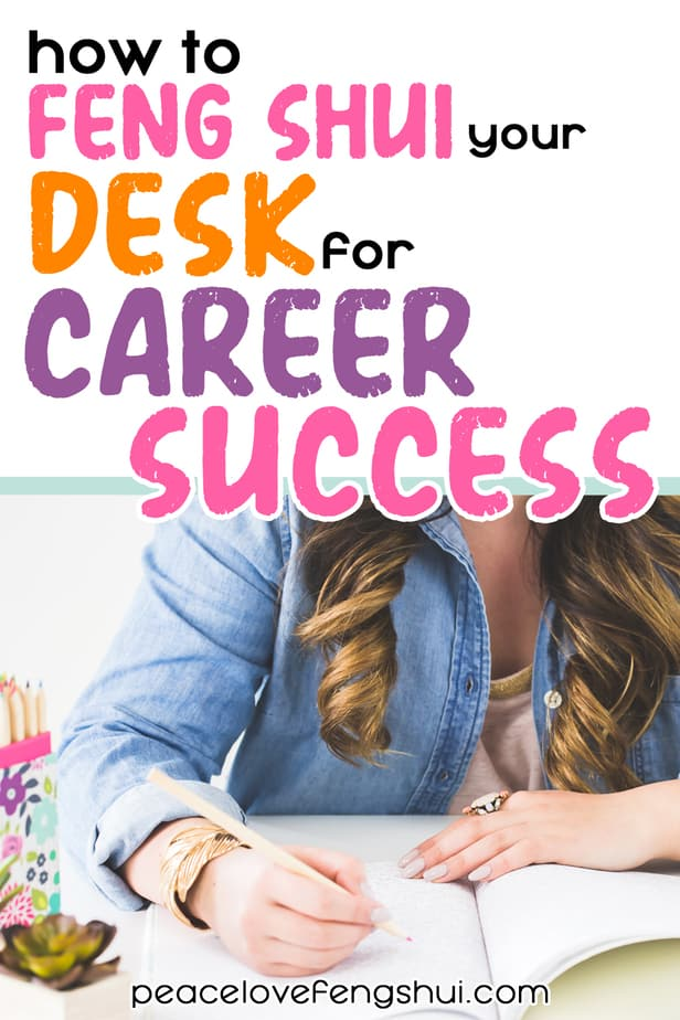 career success desk feng shui