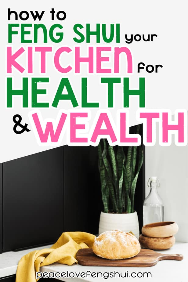 tips feng shui kitchen