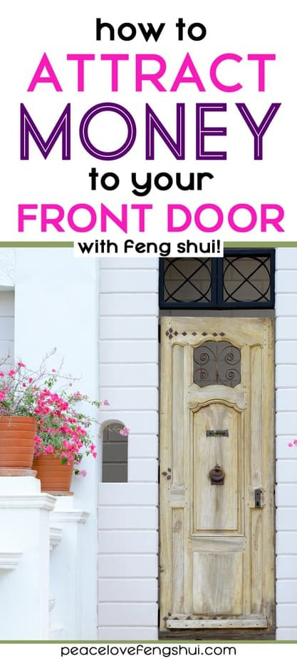 feng shui entrance door