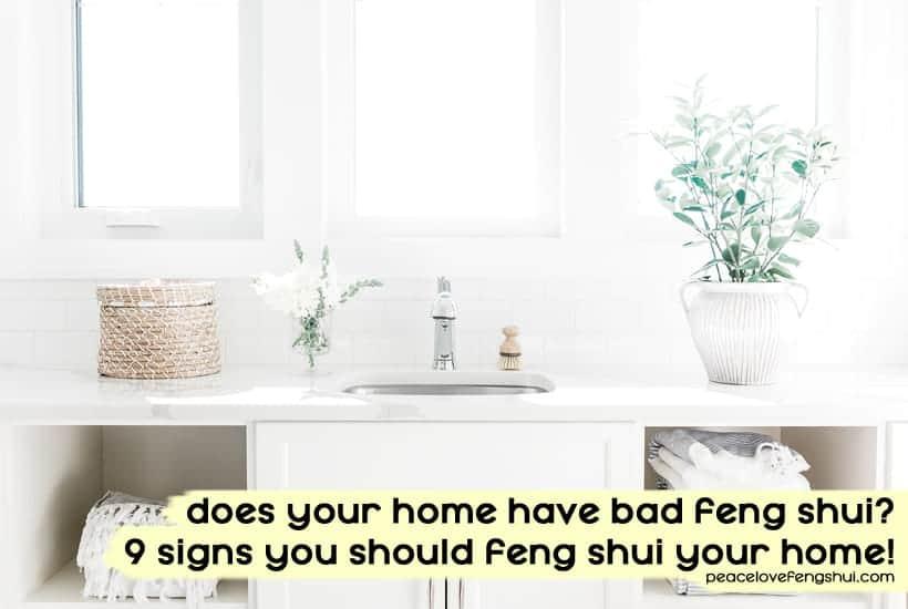 bad feng shui