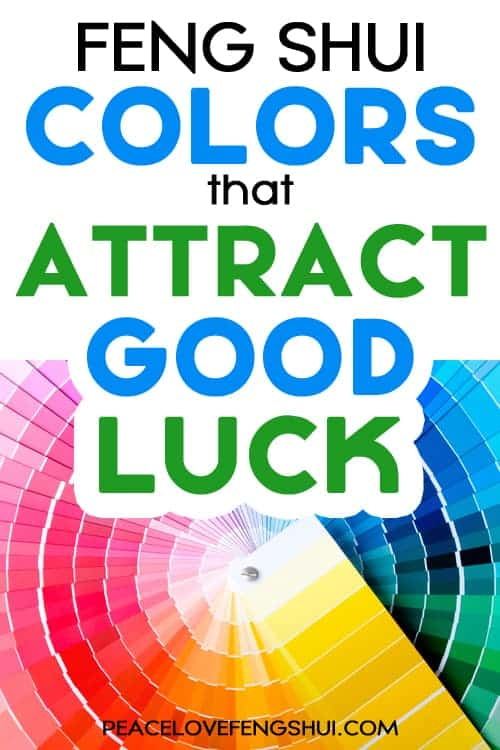 colors that attract good luck