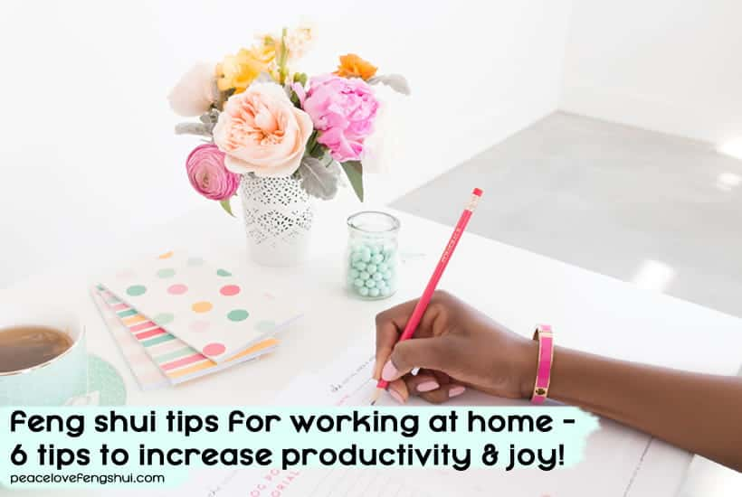 feng shui tips working at home