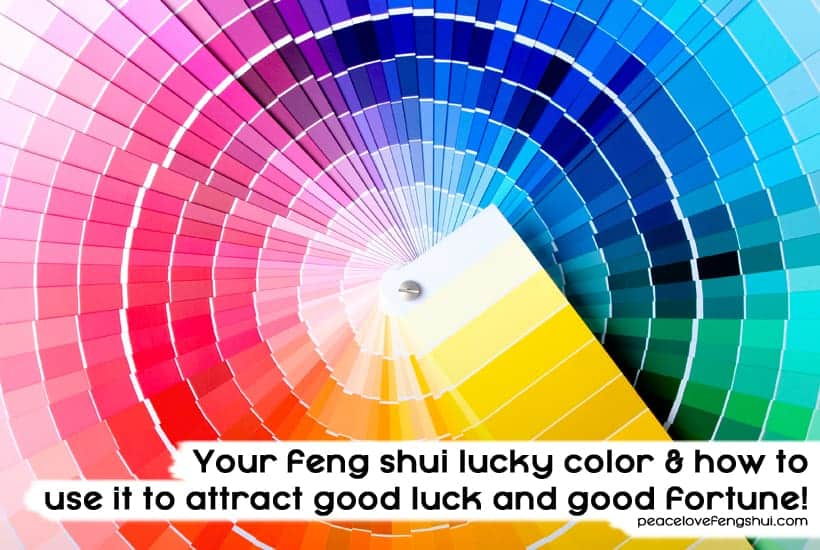 your feng shui lucky color