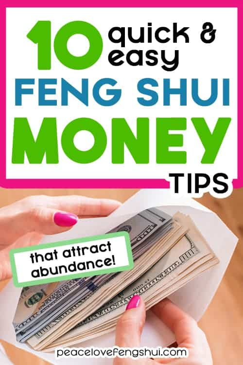 feng shui wealth tips