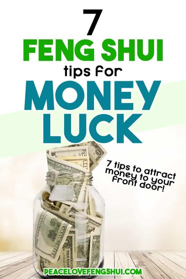 7 feng shui tips money luck
