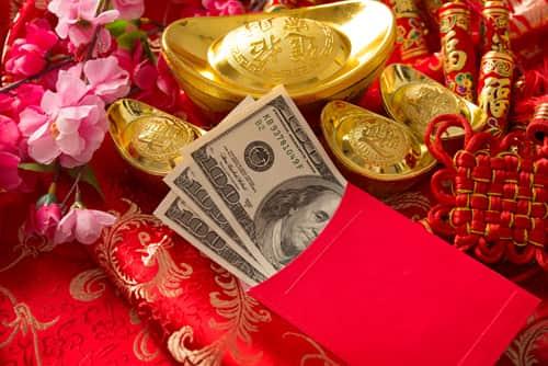 feng shui money red envelope