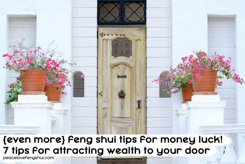 feng shui tips for money luck