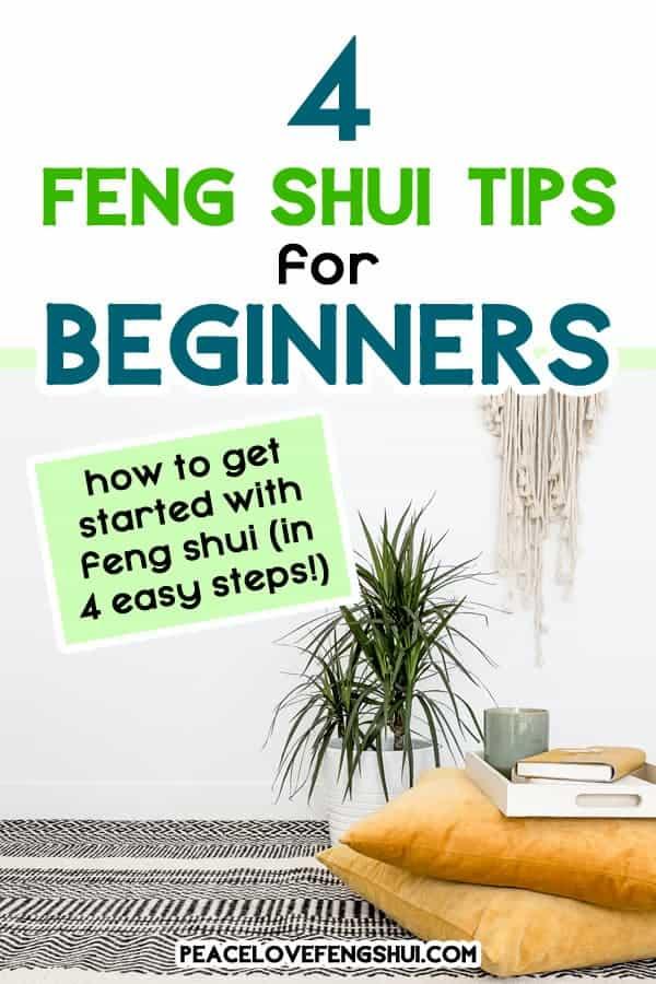 4 feng shui beginner tips