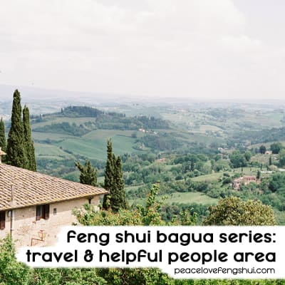 feng shui travel area