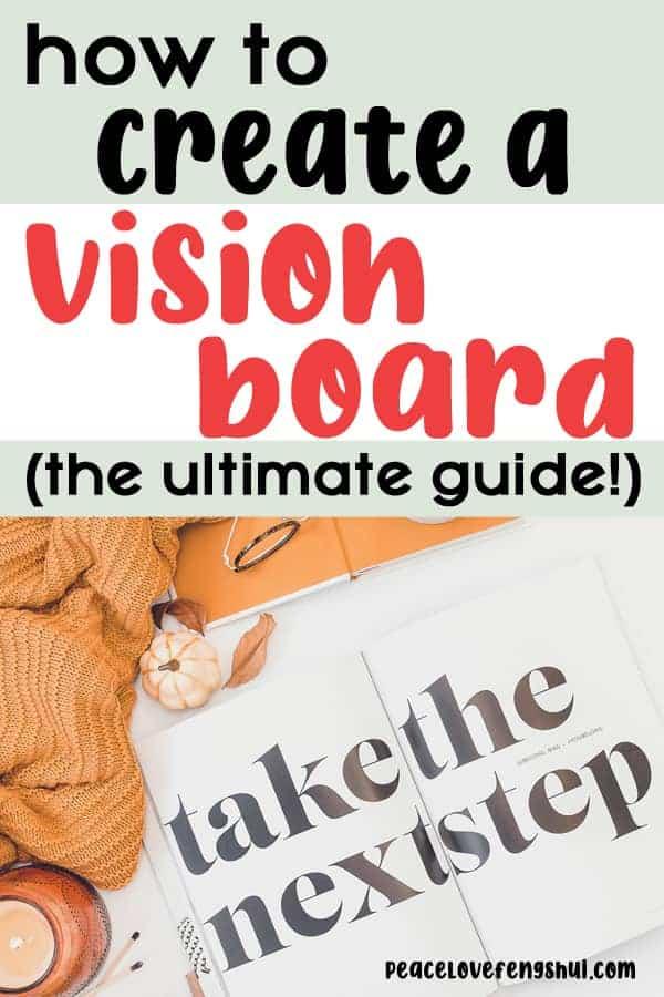 create a vision board