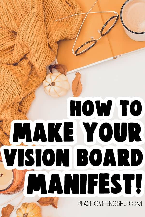 vision board manifesting