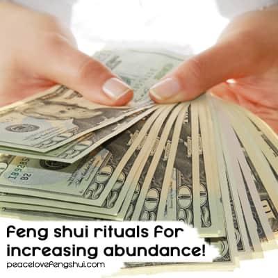 feng shui practices abundance