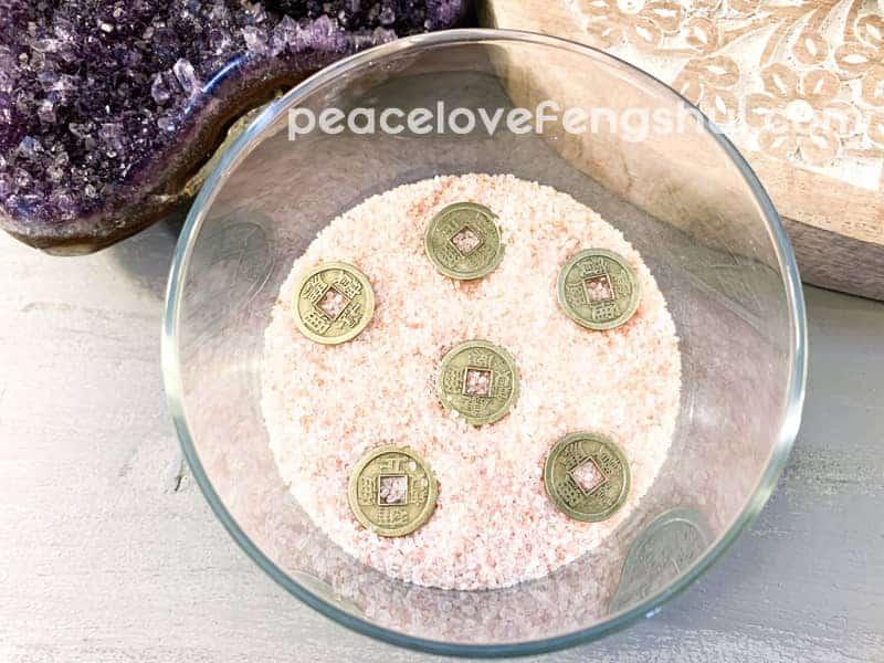 salt remove negative energy
