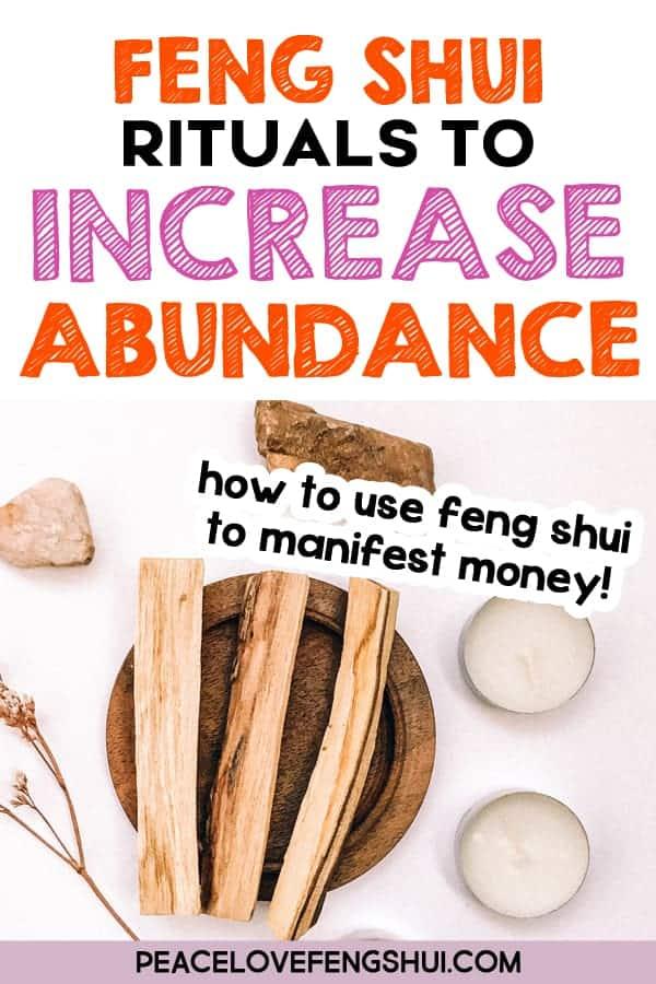 feng shui abundance tips