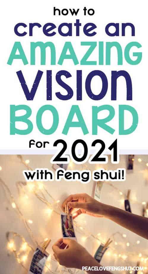 create 2021 vision board