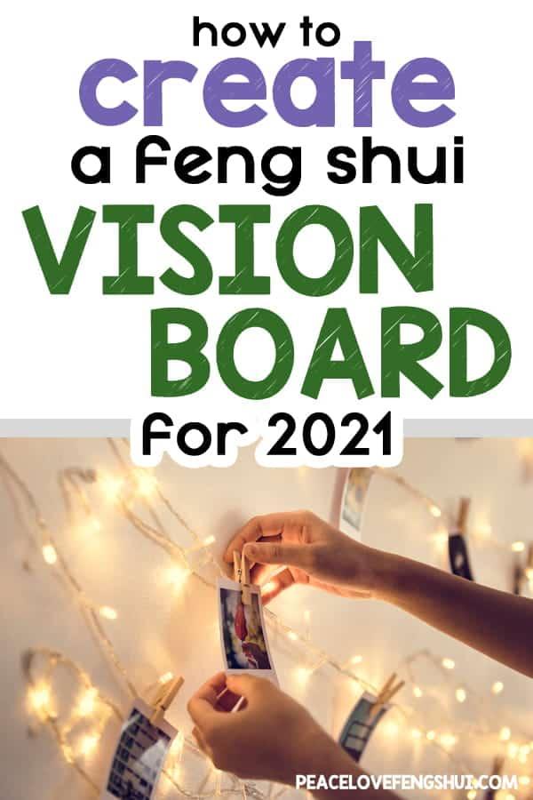 feng shui 2021 vision board