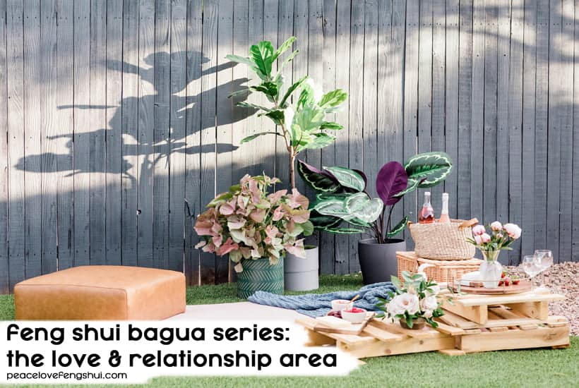 feng shui love and relationships area