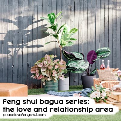 feng shui love and relationship area