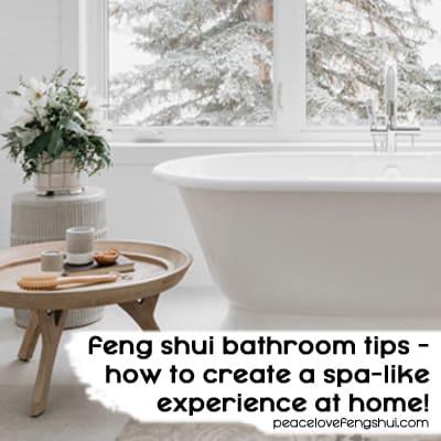 feng shui bathroom tips