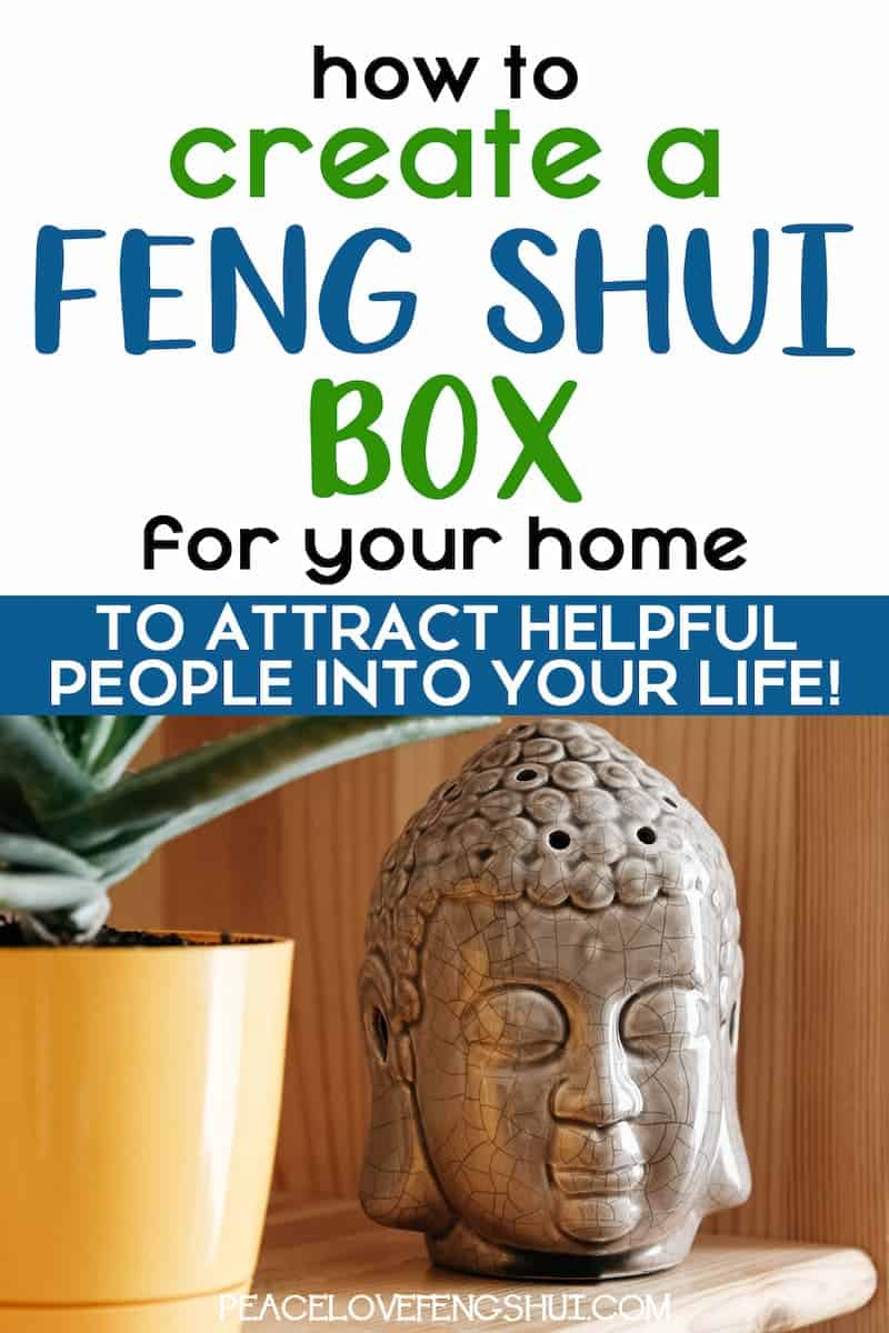 helpful people box feng shui tips