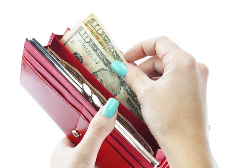 organize money wallet feng shui