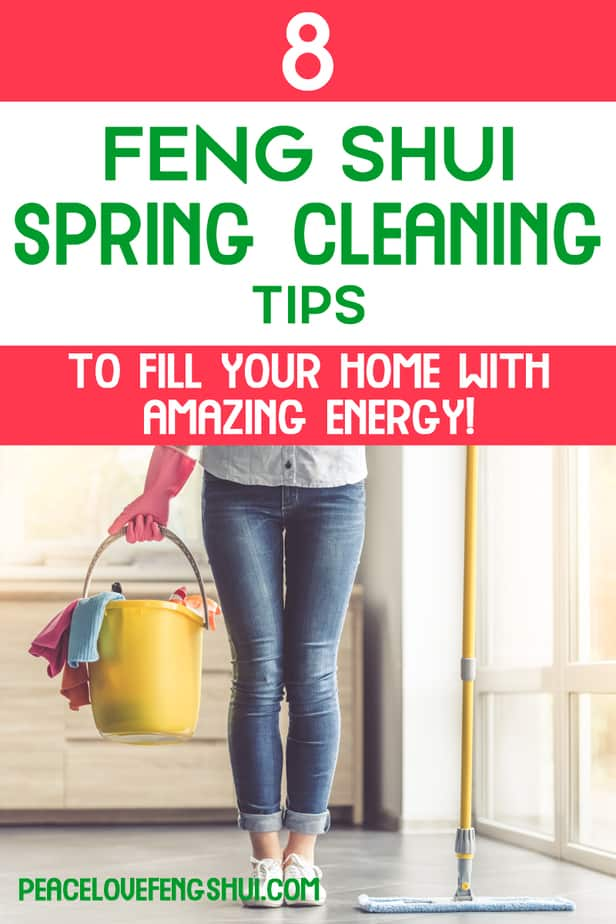 feng shui spring cleaning tips