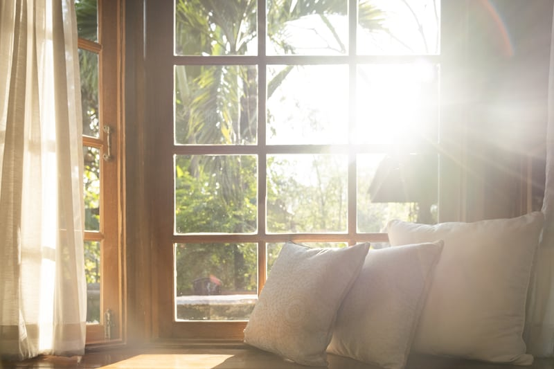 feng shui spring cleaning tips: open windows!